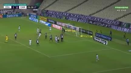 Gabriel puso el 1-1 para Mineiro