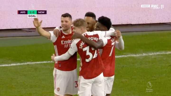 El doblete de Aubameyang para el triunfo del Arsenal