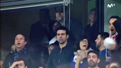 Messi, en shock tras el gol de Boca