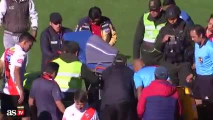 La muerte del árbitro Hurtado en Bolivia