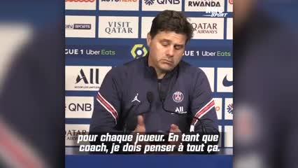 ¿Qué dijo Pochettino sobre el cambio de Messi?