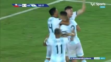 Nehuén Pérez estiró la ventaja de Argentina