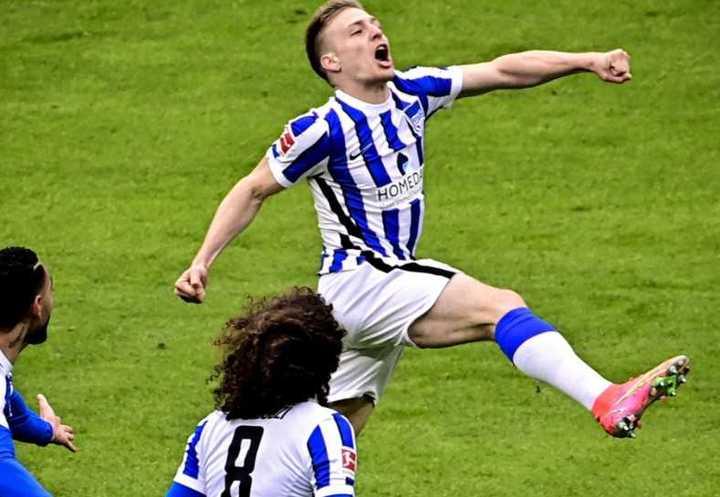 Ascacíbar y su primer gol en la Bundesliga