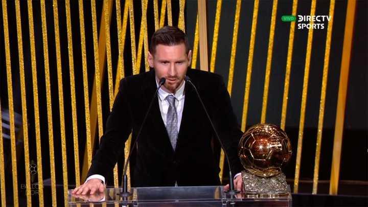 Messi consiguió su sexto Balón de Oro