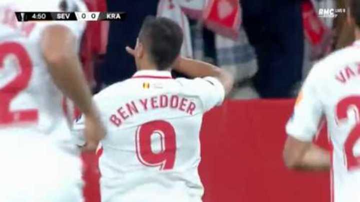 La victoria del Sevilla