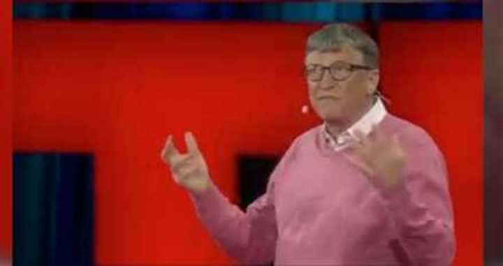 Bill Gates, fundador de microsoft. Charla TED en 2015