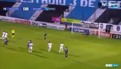 El 2-1 de Almagro a Quilmes