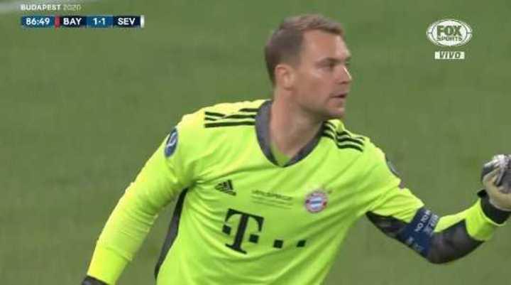 Neuer salvó al Bayern
