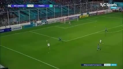 Los goles de Belgrano 2 - Ferro 2
