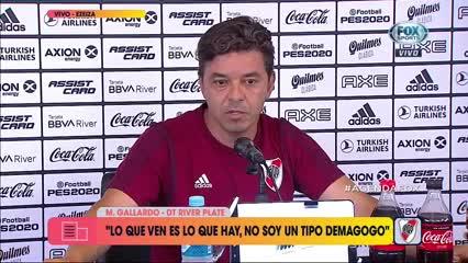 "Gallardo: ""Estoy asimilando mi propia vergüenza"""
