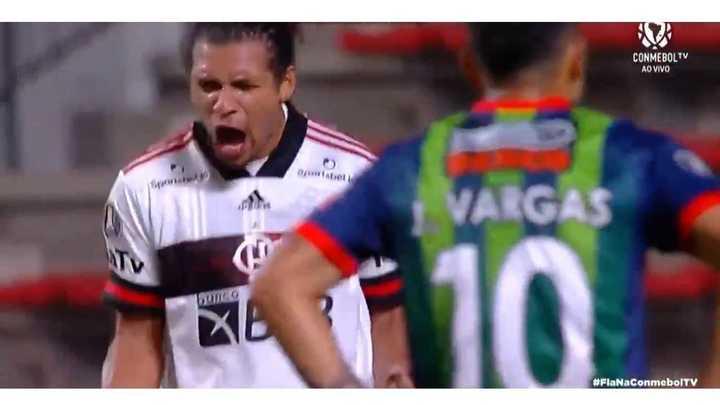 Flamengo y La Calera empararon 2 a 2