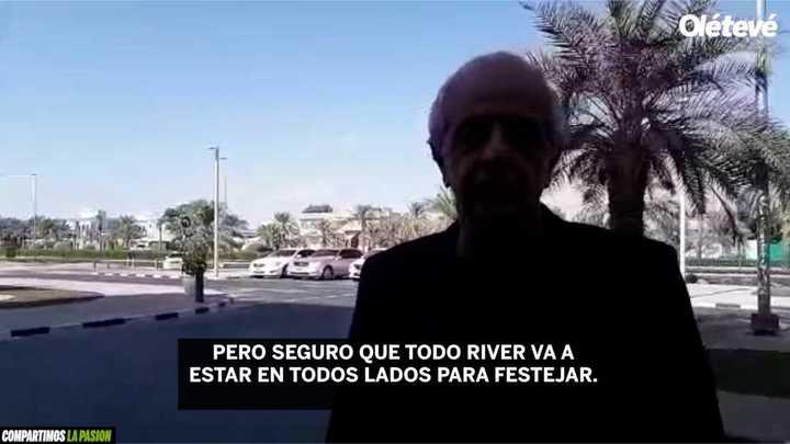 """D'Onofrio: """"La gente de River va a festejar cuando volvamos"""""""