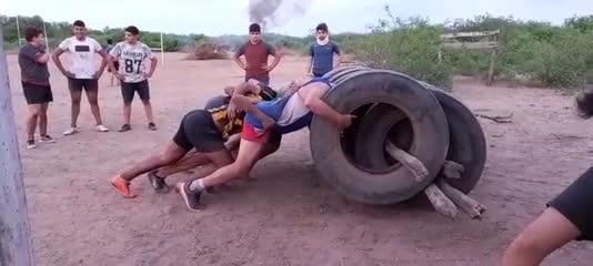 Así entrena Caraguay Rugby Club