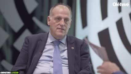 La palabra de Javier Tebas sobre el VAR y una llamada inoportuna del Real Madrid