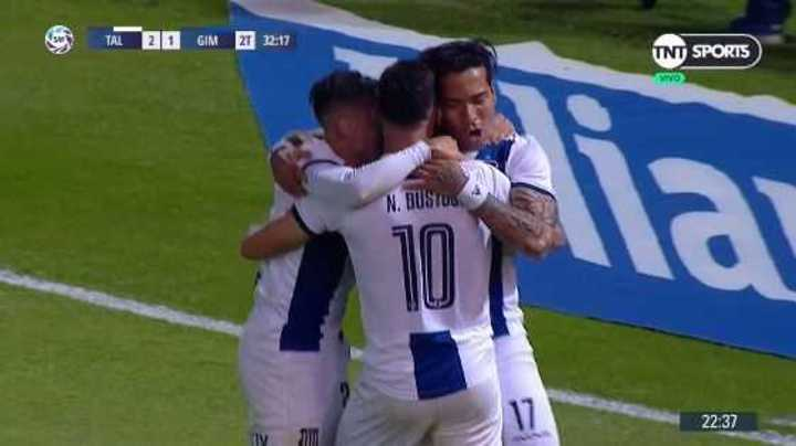 Moreno, de penal, puso el 2 a 1 de Talleres