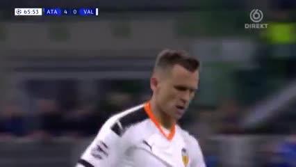 Chéryshev descontó para el Valencia