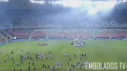 Batalla campal entre los jugadores de Ceará y Bahía