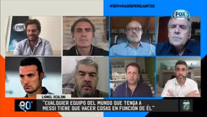 """""""Mientras más jugadores argentinos jueguen juntos mejor"""""""
