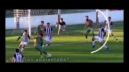 Gol en off side del Sojero