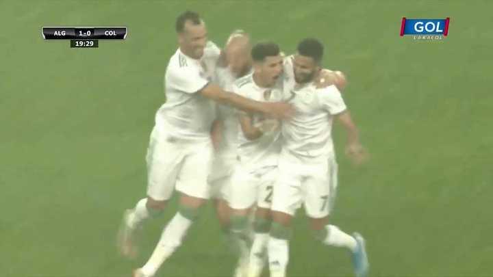 Argelia le ganó por 3 a 0 a Colombia