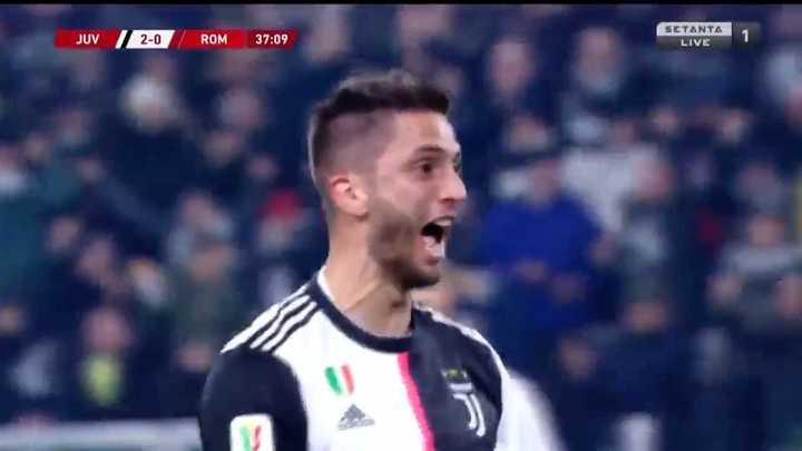 Rodrigo Bentancur marcó el segundo de Juventus
