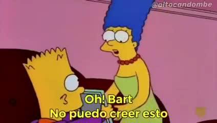 La gastada a Boca con una escena de Los Simpson