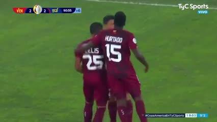 Ronald Hernández lo igualó sobre el final