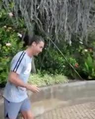 "La ""gacela"" Cristiano"