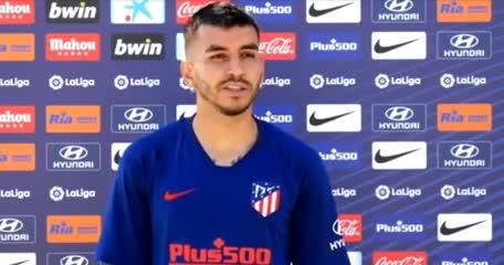 Correa, contento con la vuelta del fútbol en España