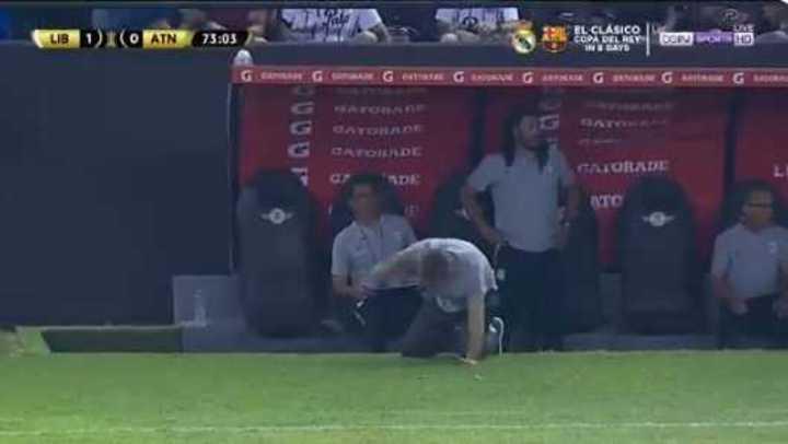El increíble gol que se comió Duarte trajo sus consecuencias...
