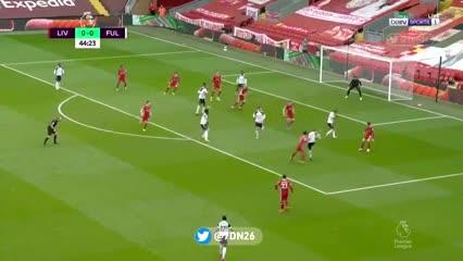 Desatención de Salah y gol del Fulham