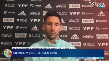 "Lionel Messi: ""Es un riesgo poder contagiarnos de Covid"""