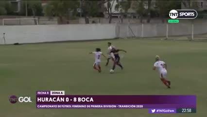 Fecha 5/ Huracán 0 - Boca 8
