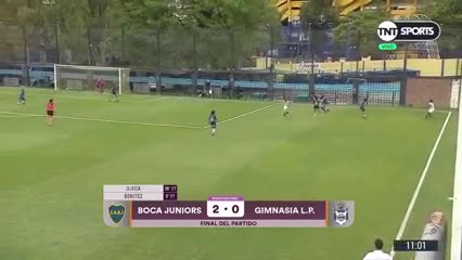 Fecha 4 / Boca 2 - Gimnasia LP 0