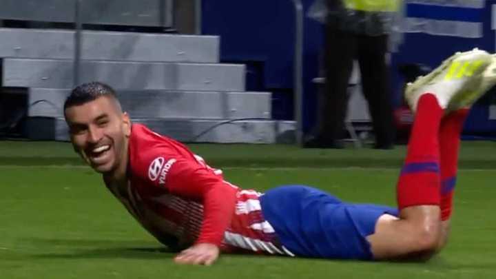 Angel Correa le dio la victoria al Atlético de Madrid con un golazo