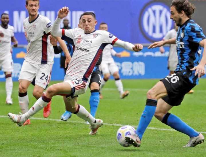 Darmian y el 1-0 para Inter frente a Cagliari