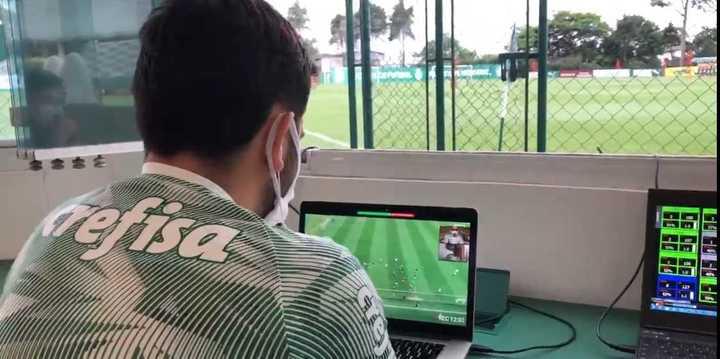 El Covid-19 no paró al DT del Palmeiras