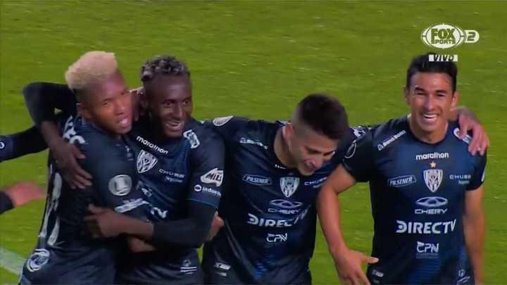 Independiente del Valle goleó a Flamengo