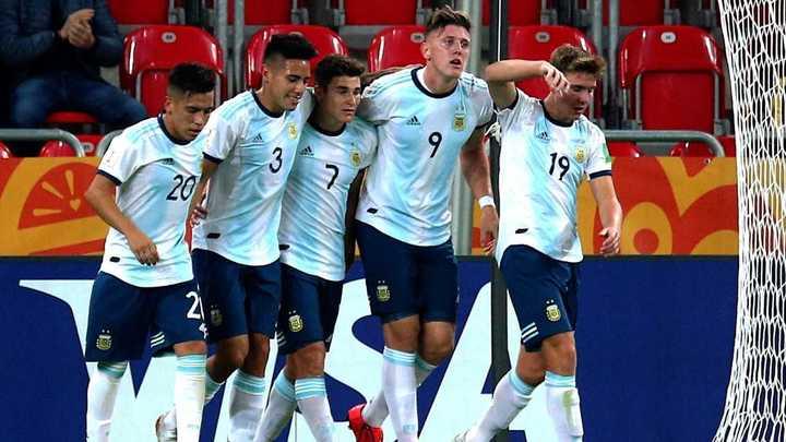 Aplastante victoria de la Selección Sub 20 en su debut mundialista ¡Mirá los goles!