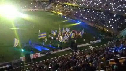 La vuelta olímpica de Rosario Central