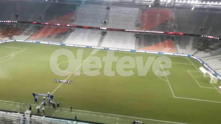 Así está el estadio donde se jugará la Recopa Sudamericana