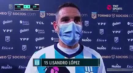 La palabra de Licha López después del partido