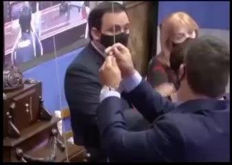 Homenaje a Maradona en la Honorable Cámara de Diputados