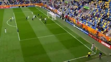 Kyosuke Tagawa y el 2-0 para Japón contra México