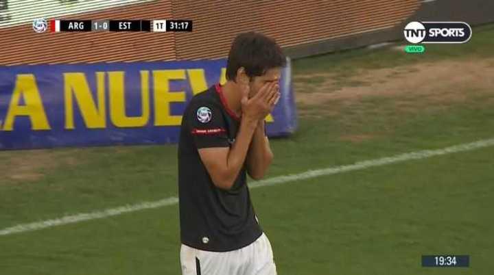 Albertengo se perdió el empate para Estudiantes