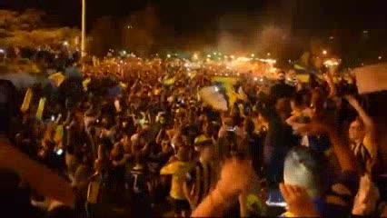 Festejos Canallas en el Monumento a la Bandera