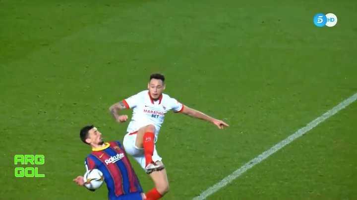 ¿Era penal para Sevilla