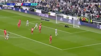 El zurdazo goleador de Dybala para el 1-0 de Juventus vs Sampdoria