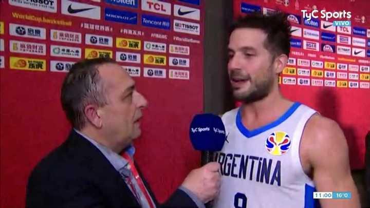 Las declaraciones de Nicolás Lapravittola luego del pase a la final