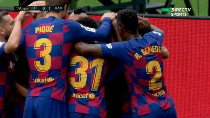 Golazo de Suárez para el 1 a 0 de Barcelona